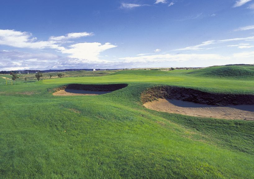 14th hole Arbroath Golf Course