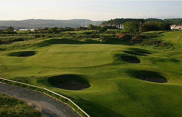 Conwy Golf Club - 1st Hole